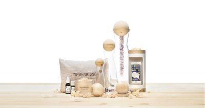 ZirbenFamilie-productassortimentsfoto