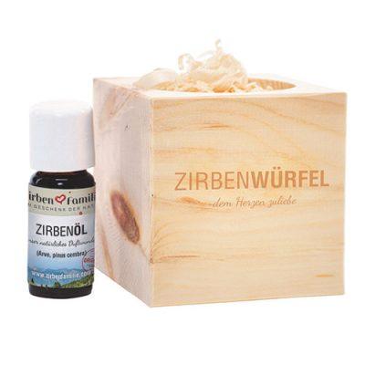 ZirbenWürfel 2 - ZirbenFamilie